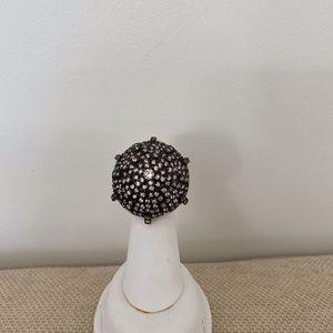 Gorgeous Silver Mushroom Ring